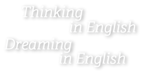 Thinking in English Dreaming in English